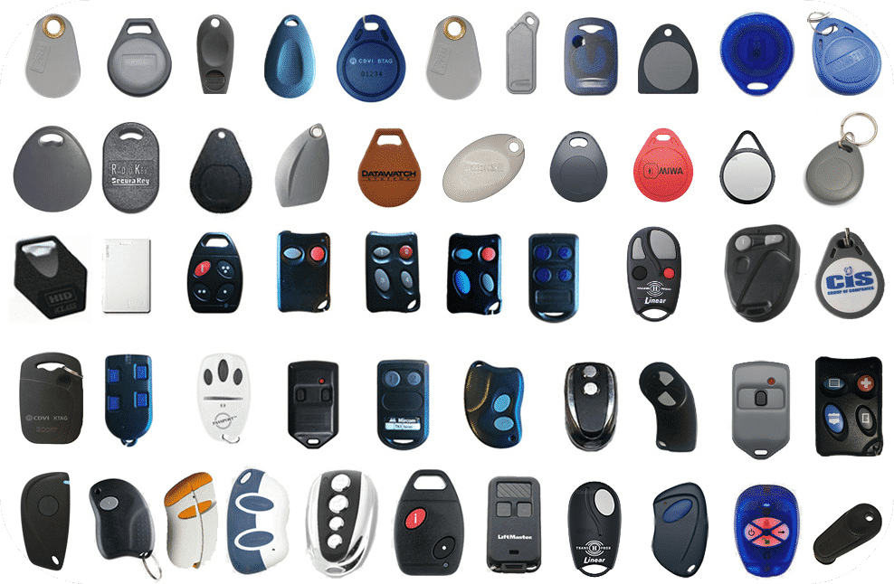 List of Compatible Key Fobs