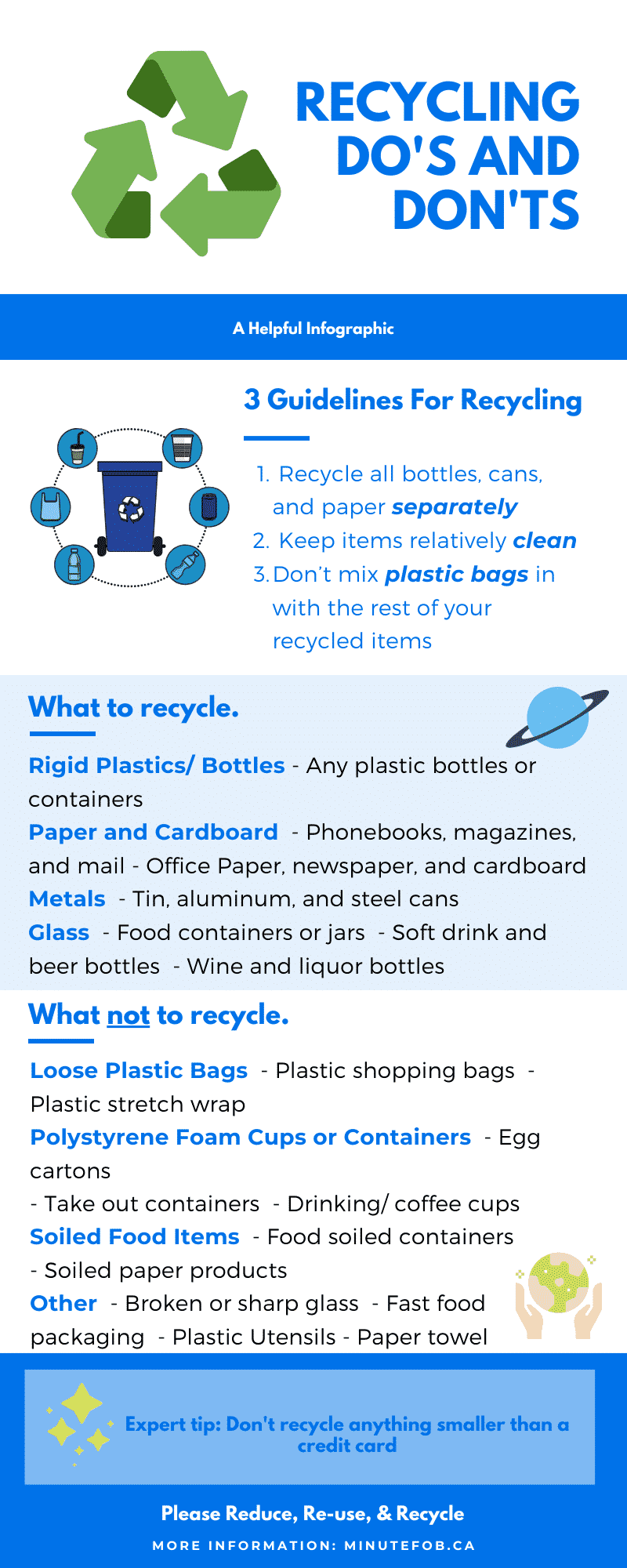 recycling dos and donts infographic toronto city apartment condo living